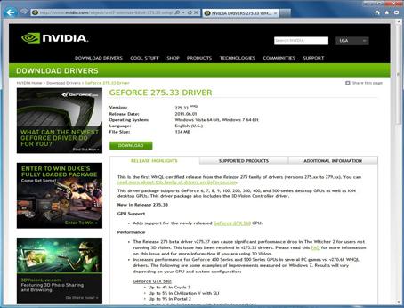 check nvidia driver version windows