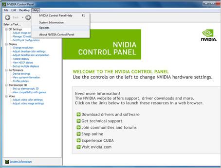 Nvidia Update Nvidia