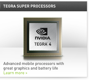 Advanced mobile processors with great graphics and battery life