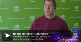 Video: Thomas Cheatham, Processor of Medicinal Chemistry and Director of Research Computing, University of Utah.