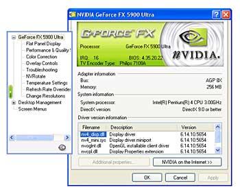 Advanced Timings NVIDIA