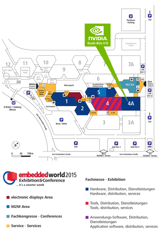 Embedded World 2015 Floor Plan