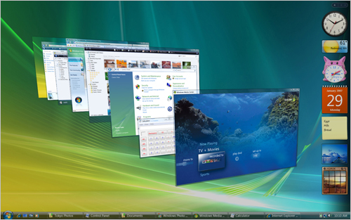 Windows Vista's slick new graphic interface requires a graphics processor. NVIDIA supports consumers with more than 100 different Windows Vista-Ready graphics processors and motherboards.