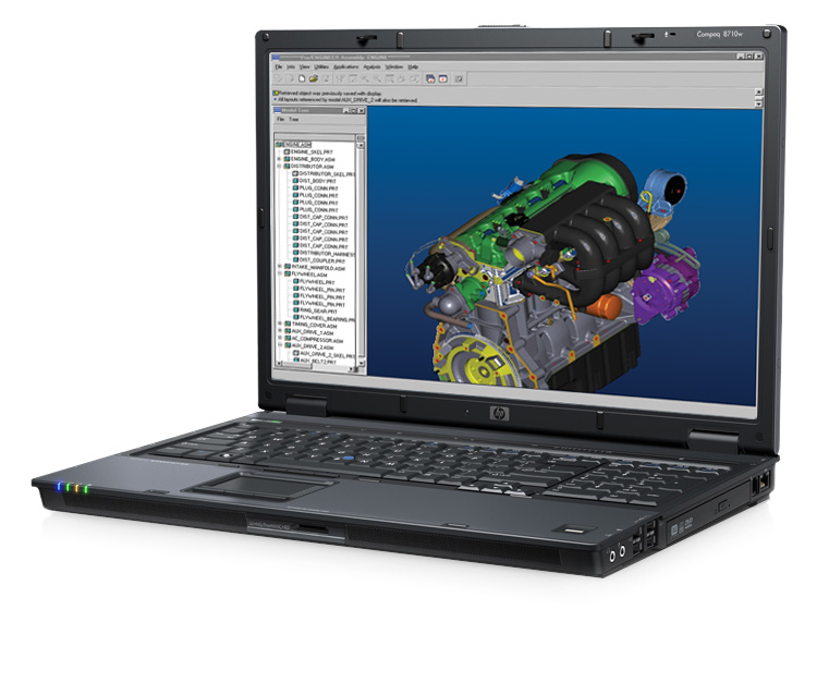 8710w CoreSet FLAT Nvidia Delivers G92 based Quadro FX 3600M For Notebooks