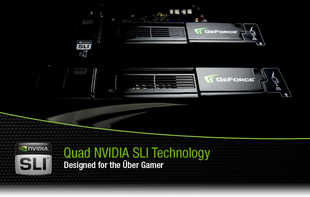 Quad NVIDIA SLI Technology