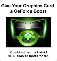 Give your graphics card a GeForce boost