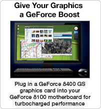 Give your graphics a GeForce boost
