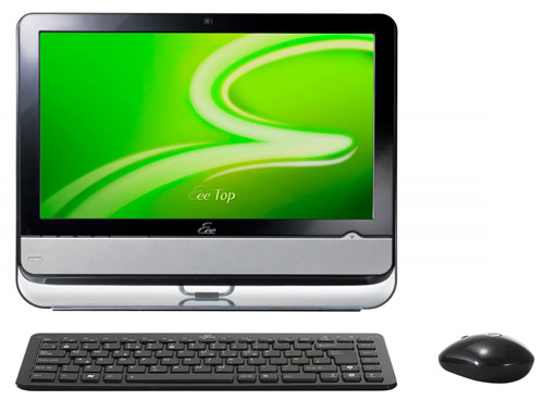ASUS ION eeeTop large Nvidia displays more Ion based devices