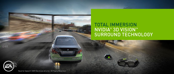 NVIDIA 3DVision Surround