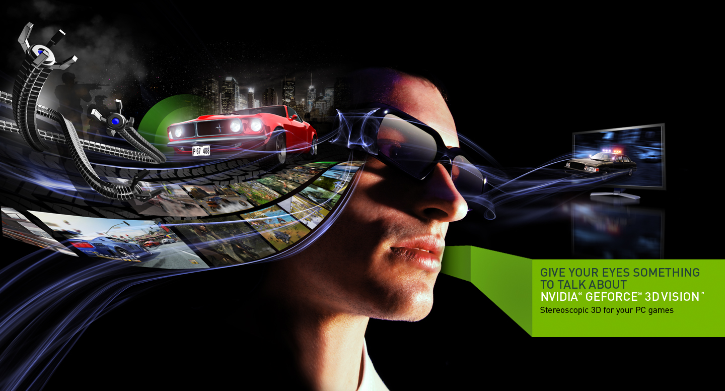 Nvidia 3d vision is the industry s most versatile 3d stereoscopic