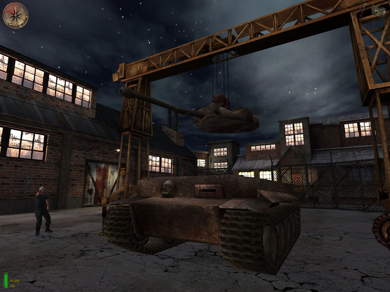 Drive A Tank >> Games: Medal of Honor: AA|NVIDIA