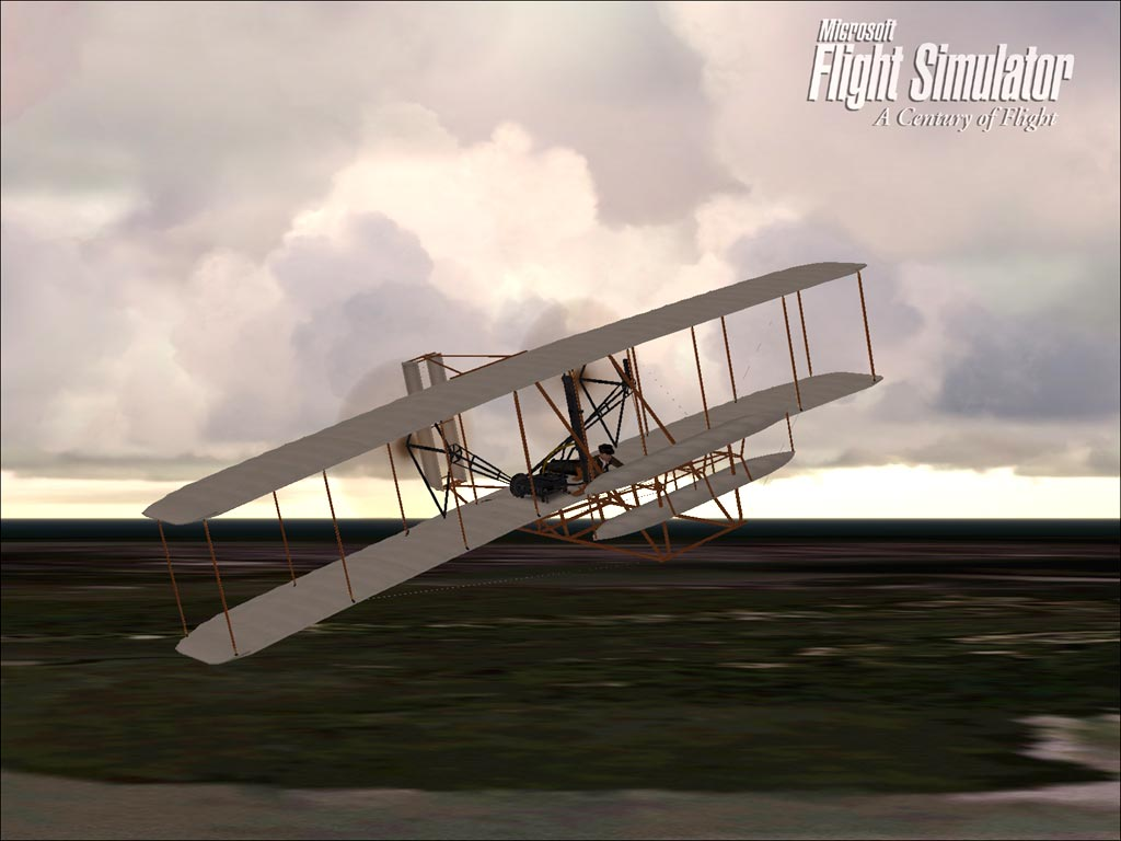 Wright Brothers Flight for game: ms flight simulator|nvidia